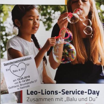 Leo Lions Service Day 2018 (LLSD)